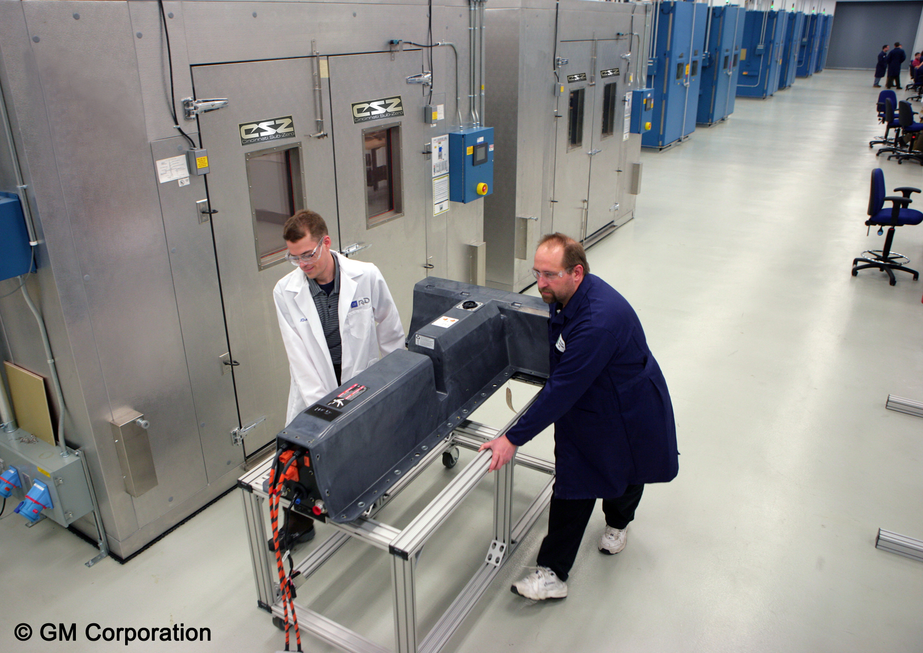 CSZ Supplies Environmental Chambers to GM Battery Test Lab